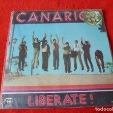 Discos de vinilo: (XM)DISCO-LOS CANARIOS - LIBERATE ! -LP. Lote 115311663