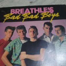 Discos de vinilo: BREATHLESS SINGLE HERMANO DE CRAZY CAVAN ROCKABILLY. Lote 115313059