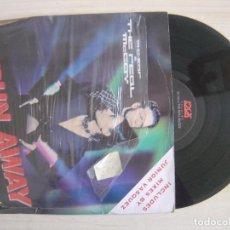 Discos de vinilo: M.C. SAR & THE REAL MCCOY - RUN AWAY - MAXISINGLE 33 - UK 1994 - LOGIC. Lote 115313327