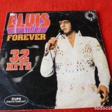 Discos de vinilo: (XM)DISCO-ELVIS PRESLEY 2LP´S 32 HITS FOREVER. Lote 115314207