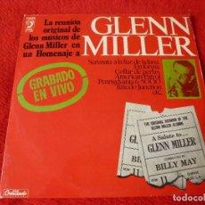 Discos de vinilo: (XM)DISCO-GLENN MILLER, GRABADO EN VIVO (DISCOPHON 1974) LP . Lote 115315487
