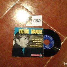 Discos de vinilo: VÍCTOR MANUEL ?– PRIMER DISCO EP BELTER ?– 51.659 . Lote 115317455