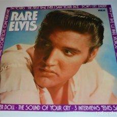 Discos de vinilo: RARE ELVIS - LP - EX/EX - [CANCIONES RARAS DE ELVIS PRESLEY+ 3 ENTREVISTAS) PL-89003. Lote 131970071