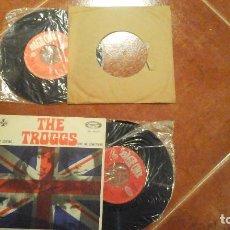 Discos de vinilo: LOTE DE 2 DISCOS SINGLES DE THE TROGGS - EASY LOVING Y EVIL WOMAN (EL SEGUNDO SIN PORTADA). Lote 115325415