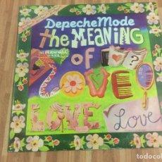 Discos de vinilo: DEPECHE MODE,,THE MEANING OF LOVE,,. Lote 115325743