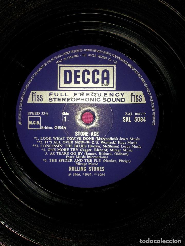 Discos de vinilo: THE ROLLING STONES - STONE AGE THE ROLLING STONES - MADE IN ENGLAND 1971, DECCA - Foto 5 - 115326407