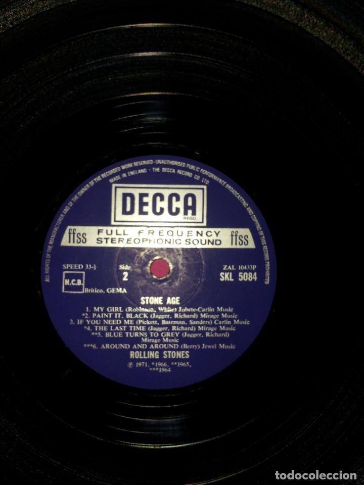 Discos de vinilo: THE ROLLING STONES - STONE AGE THE ROLLING STONES - MADE IN ENGLAND 1971, DECCA - Foto 6 - 115326407