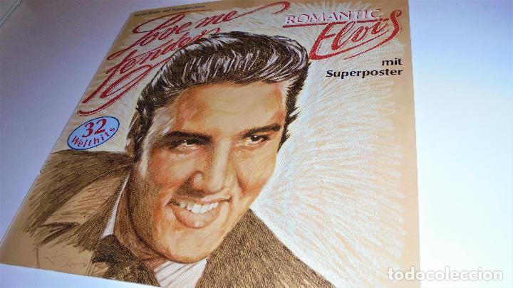 Discos de vinilo: ELVIS PRESLEY -- 2LP - ROMANTIC ELVIS - LOVE ME TENDER - (incluye poster) EX/EX - Foto 4 - 115334075