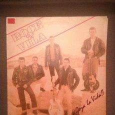 Discos de vinilo: ROCK A VILA: GOZA LA VIDA !! GRUPO EXTREMEÑO SELLO JAMMIN 1993. Lote 115289099