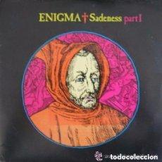 Discos de vinilo: ENIGMA - SADENESS PART I - MAXI-SINGLE UK 1990. Lote 115344303