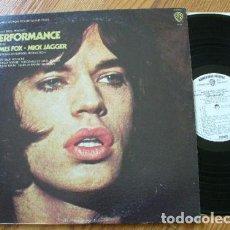 Discos de vinilo: ROLLING STONES - MICK JAGGER - PERFORMANCE 1970, RARA EDIC ORG USA PROMOCIONAL, EXC. Lote 115345935