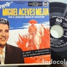 Discos de vinilo: MIGUEL ACEVES MEJIAS, EL JINETE 1958, DISCO VINILO. Lote 115351431