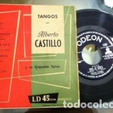 Discos de vinilo: TANGOS ALBERTO CASTILLO, PATO, DISCO VINILO. Lote 115351551