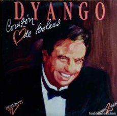 Discos de vinilo: DYANGO. CORAZON DE BOLERO. DOBLE LP CON FUNDAS INTERIORES CON LETRAS.. Lote 115353051