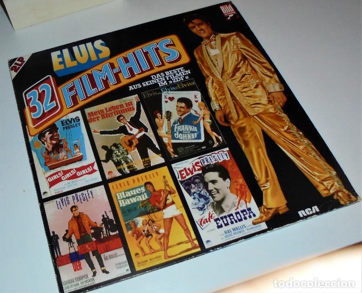 ELVIS PRESLEY - - ELVIS 32 FILM-HITS -2 LP- GATEFOLD COVER - EX/EX (Música - Discos - LP Vinilo - Bandas Sonoras y Música de Actores )
