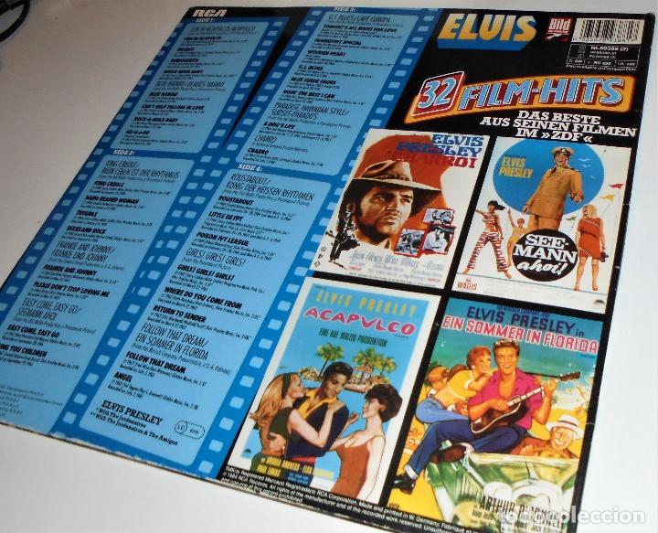 Discos de vinilo: ELVIS PRESLEY - - ELVIS 32 FILM-HITS -2 LP- GATEFOLD COVER - EX/EX - Foto 3 - 115355763