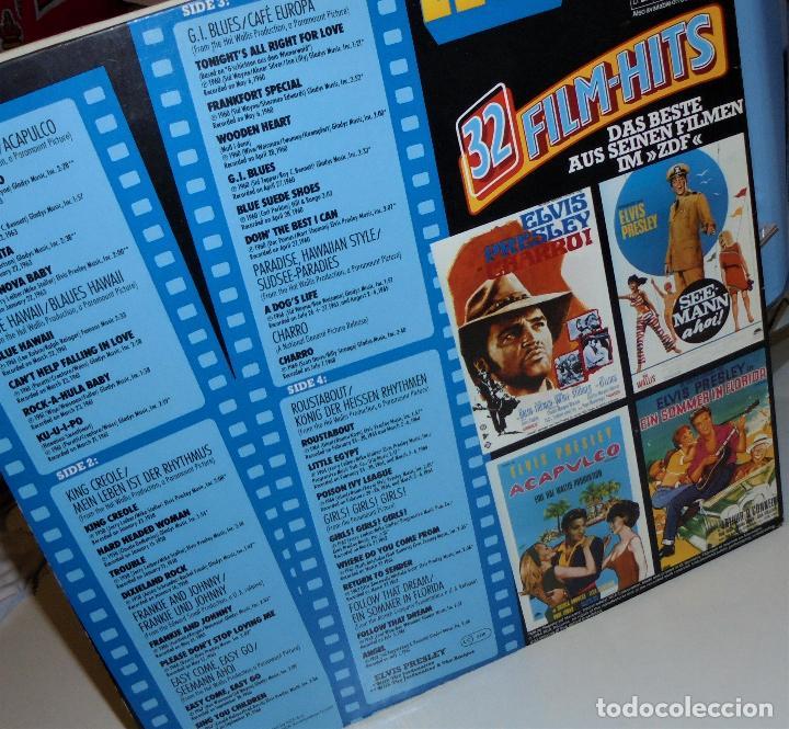 Discos de vinilo: ELVIS PRESLEY - - ELVIS 32 FILM-HITS -2 LP- GATEFOLD COVER - EX/EX - Foto 5 - 115355763
