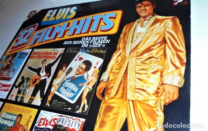 Discos de vinilo: ELVIS PRESLEY - - ELVIS 32 FILM-HITS -2 LP- GATEFOLD COVER - EX/EX - Foto 6 - 115355763