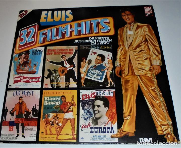 Discos de vinilo: ELVIS PRESLEY - - ELVIS 32 FILM-HITS -2 LP- GATEFOLD COVER - EX/EX - Foto 7 - 115355763