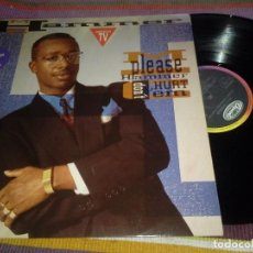 Discos de vinilo: MC HAMMER-PLEASE HAMMER DON'T HURT 'EM-1990. Lote 115360627