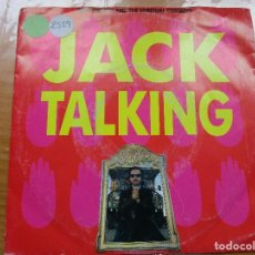 Discos de vinilo: DAVE STEWART AND THE SPIRITUAL COWBOYS - JACK TALKING. Lote 115361463