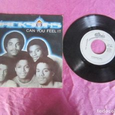 Discos de vinilo: THE JACKSONS - CAN YOU FEEL IT WONDERING WHO 1981 SINGLE VINILO . Lote 115361679