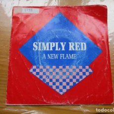 Discos de vinilo: SIMPLY RED - A NEW FLAME. Lote 115361687