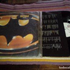 Discos de vinilo: PRINCE - BANDA SONORA BATMAN LP 1989 CON ENCARTE LETRAS. Lote 115361743