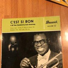 Discos de vinilo: DISCO VINILO EP LOUIS ARMSTRONG C,EST SI BON. Lote 115362715
