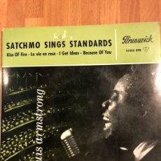 Discos de vinilo: DISCO VINILO EP LOUIS ARMSTRONG SATCHMO SINGS STANDARDS. Lote 115362903
