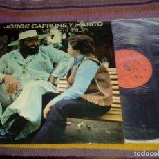 Discos de vinilo: JORGE CAFRUNE Y MARITO - VIRGEN INDIA - LP CBS 1972. Lote 115363751