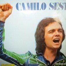 Discos de vinilo: CAMILO SESTO LP AÑO 1973 ALGO MAS - EN VALENCIA - HOMBRE Y MUJER - VOLVER, VOLVER - ( TIENE POSTER . Lote 115365207