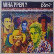 Discos de vinilo: THE BEAT... WHA'PPEN?.(GO-FEET RECORDS 1981).SPAIN.. Lote 115366491
