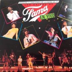 Discos de vinilo: FAMA EN VIVO. Lote 115366823