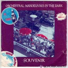 Discos de vinilo: ORCHESTRAL MANOEUVRES IN THE DARK (OMD)- SOUVENIR - SINGLE SPAIN 1981. Lote 115374963