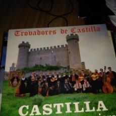 Discos de vinilo: TROBADORES DE CASTILLA JOTA DEL EMIGRANTE LP 1986 PRIVADO BURGOS FOLK TRADICIONAL. Lote 115375763