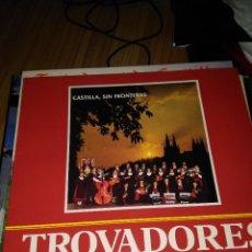 Discos de vinilo: TROBADORES DE CASTILLA LP 1986 PRIVADO BURGOS FOLK TRADICIONAL. Lote 115375915