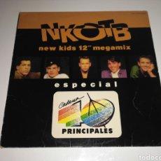 Discos de vinilo: NEW KIDS ON THE BLOCK - MEGAMIX (40 PRINCIPALES). Lote 115378246