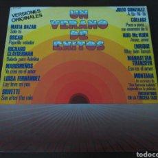 Discos de vinilo: UN VERANO DE EXITOS (LP). Lote 115380047