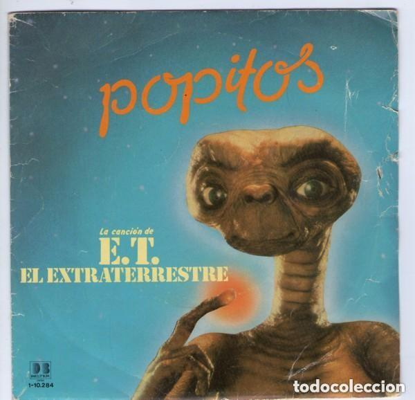POPITOS / SUPER BABYS - CANCION DE E.T. EL ESTRATERESTRE - LP BELTER SPAIN 1982 (Música - Discos - LPs Vinilo - Música Infantil)