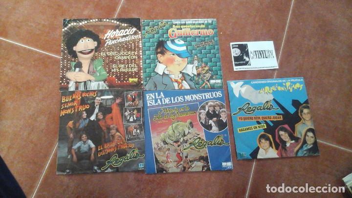 LOTE DE 5 SINGLES DE REGALIZ (Música - Discos - Singles Vinilo - Otros estilos)