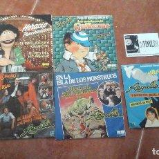 Discos de vinilo: LOTE DE 5 SINGLES DE REGALIZ. Lote 115393619
