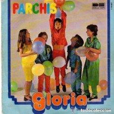 Discos de vinilo: PARCHIS - GLORIA / EN LA ARMADA - SINGLE BELTER 1979 (DISCO TRANSPARENTE VERDE). Lote 115393631