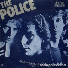 Discos de vinilo: THE POLICE ··· MESSAGE IN A BOTTLE / LANDLORD - (SINGLE 45 RPM). Lote 115400555