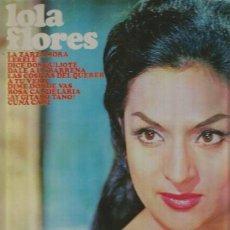 Discos de vinilo: LOLA FLORES LP SELLO ALHAMBRA EDITADO EN USA. . Lote 115402067