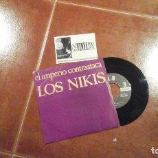Discos de vinilo: LOS NIKIS ?– EL IMPERIO CONTRAATACA SINGLE 3 CIPRESES ?– 1C-136 . EN IMPECABLE ESTADO. Lote 115422363