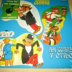 Discos de vinilo: CARPANTA LP CON COMIC . Lote 115423931