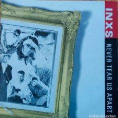 Discos de vinilo: INXS, NEVER TEAR US APART. MAXI SINGLE ESPAÑA 3 TEMAS. Lote 115434543
