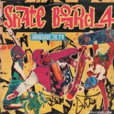 Discos de vinilo: SKATE BOARD 4 - DOBLE LP BLANCO Y NEGRO DE 1992 - DOBLE PORTADA RF-5083. Lote 137951462