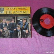Discos de vinilo: THE ANIMALS. BOOM BOOM CLUB A GOGO ROADRUNNER ...EP VINILO . Lote 115436423